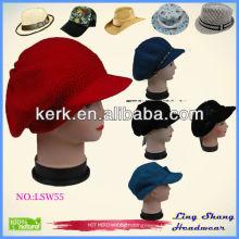 lsw55 Ningbo Lingshang Charming Winter Hat Wool Hat Girls Hat Women hats hat wool hat