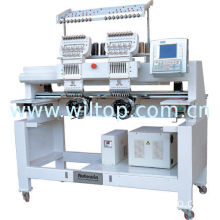 Hy-602 2 Head 6 Needle Cap / Tubular Embroidery Machinery For Capd, Garments, T-shirt