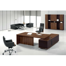 Durable Wood Chinese Furniture Table Manager Diretor Office Table (HF-TWB109)