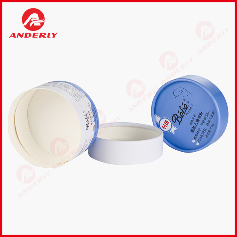 Customized Baby Powder Packaging Paper Tube