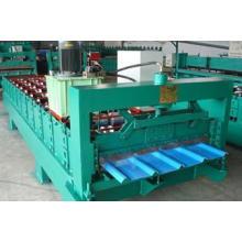 Máquina formadora de rolo de painel de parede de aço colorido