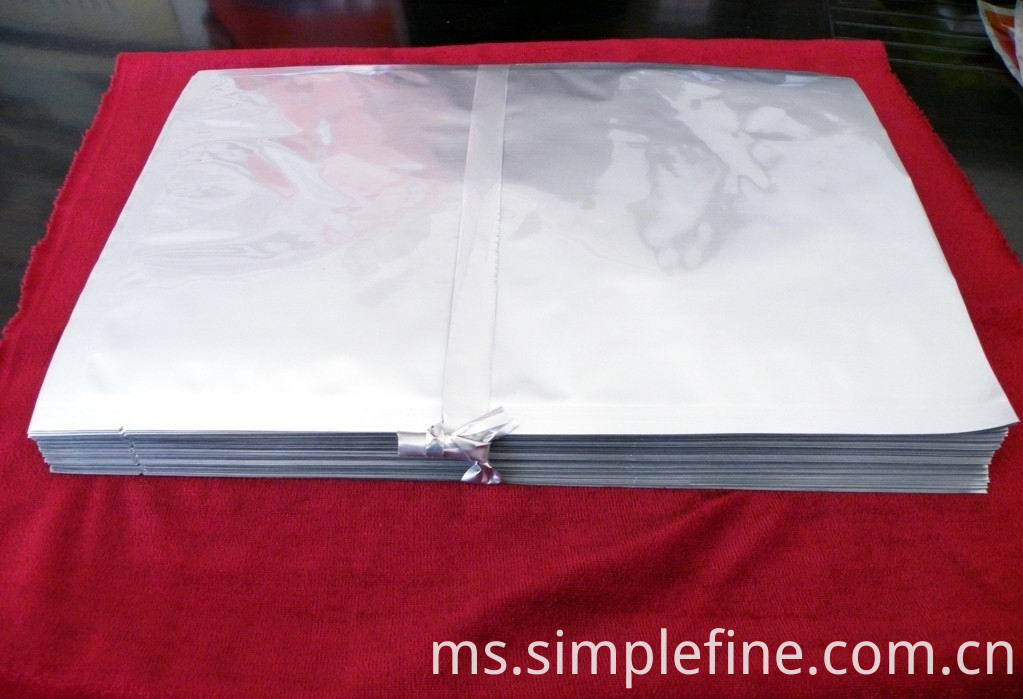 Clear Metalized Foil Bag