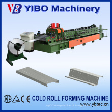 Yibo Machinery Novo Projeto Hidráulico Corte Aço Stud C Z M Purlin Line