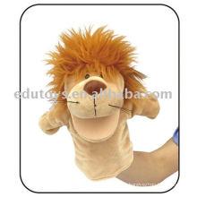Hochwertige pädagogische Spielzeug Handpuppe - Löwe