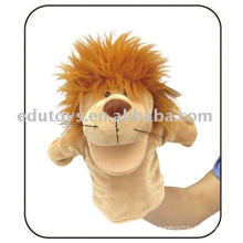 Juguetes educativos de alta calidad Marioneta de mano - León