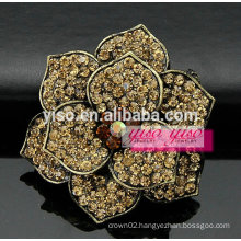 colored starburst rhinestone brooch pin