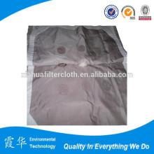 PP tissu filtrant coloré pour filtre presse
