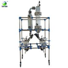 Evaporateur à couche mince de laboratoire pour la séparation des solvants