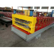Машина для производства рулонных коробок с двойной палубой