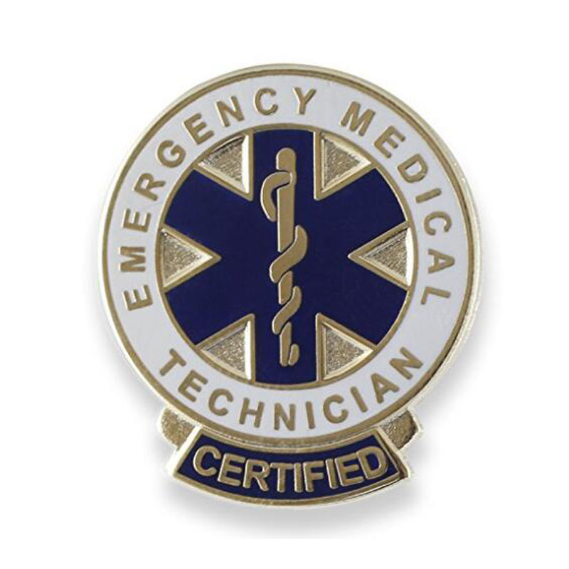 Certified Metal Lapel Pin