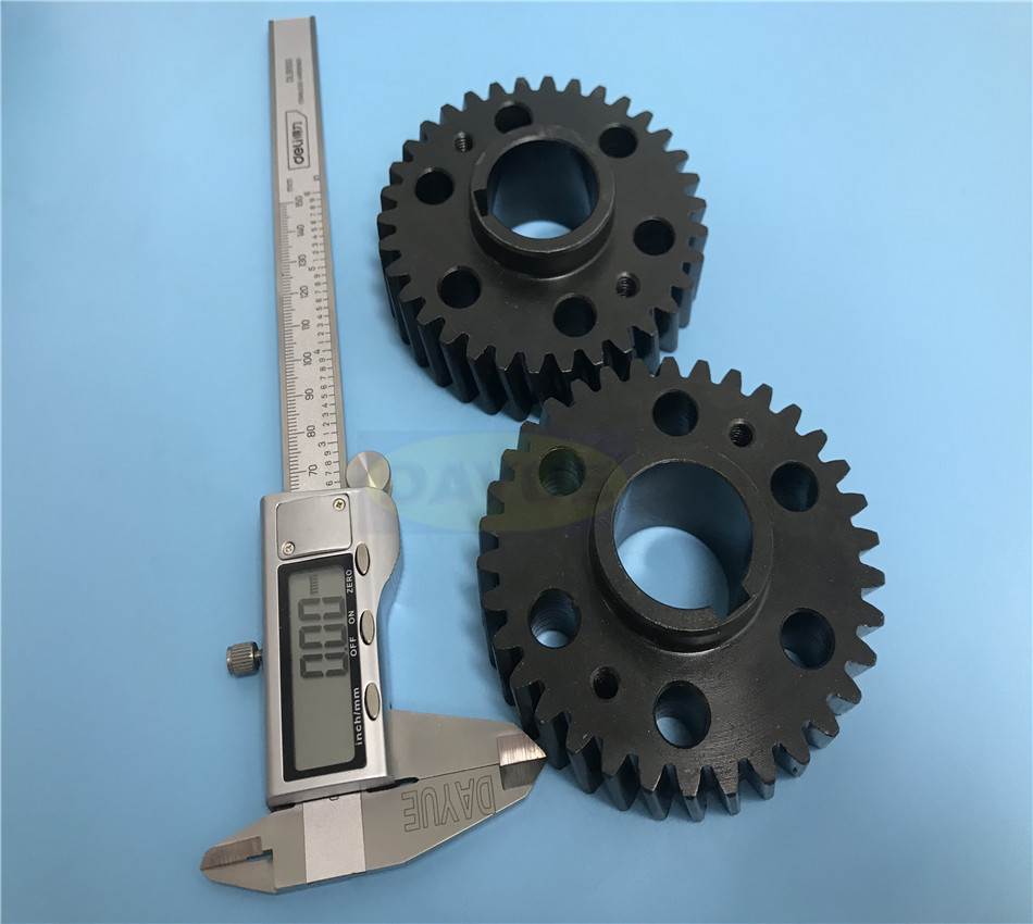 Broaching internal gears & Gear grinding machining