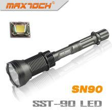 Maxtoch SN90 2300LM 3 * 18650 LED Super brillante linterna de SST-90