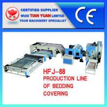 Линия по производству постельных принадлежностей и покрытия