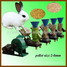 flat-die rabbit feed pellet machine(size of 2-8mm)