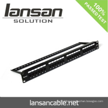24Port RJ45 CAT6 Patch Panel For Network Cabling Accessories