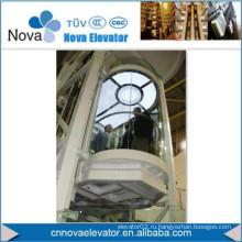 Наблюдательный лифт для пассажира, 800-1000 кг
