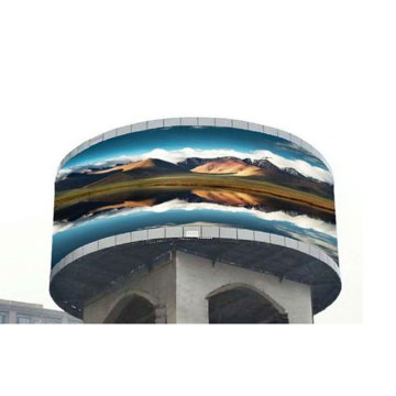 Circle Full Color Round P4 Led Outdoor Screen