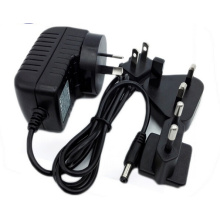 Intercambiável Plug 5v 1.5a Power AC Adapter