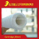 Polypropylene Cartridge Filters 50inchs Top quality