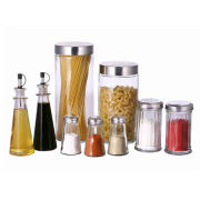 Condiment Set, Available in Various Designs and Colors, Measuring Scale and Airtight DesignNew