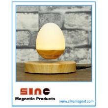 Horno innovador Maglev Nightlight Bluetooth con forma de huevo