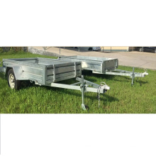 Galvanized OEM strong fram box trailer from chinese manufacturer