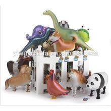 Hot Sell Various Design Christmas Gift Foil Balloon Walking Animal Balloon