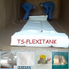 20 toneladas alimentos grado flexitank contenedor para el transporte de la palma