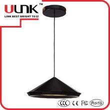 Zhongshan Ulink lighting YLF010 hot led black pendant light 23w