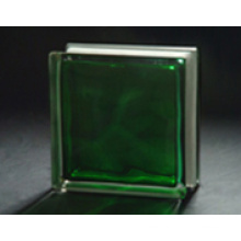 190*190*80mm Green in-Colored Cloudy Glass Block