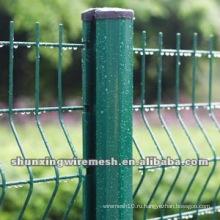 Европейский стиль 3D изогнутый забор из проволочной сетки (прямой производитель)