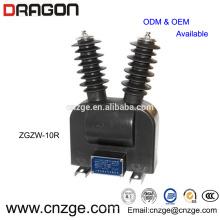 ZGZW-20G tipo 11kv transformador de tensão ao ar livre ct pt