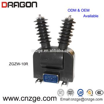 ZGZW-20G tipo transformador de voltaje al aire libre 11kv ct pt