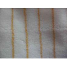 Yellow Stripe Acrylic Fabric
