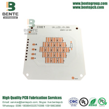 1 piastra PCB base in rame PCB ENIG Metal PCB