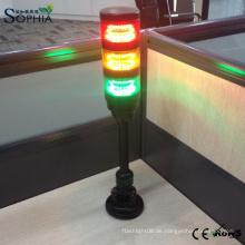 Hohe Qualität IP67 Wasserdichte LED Signal Turm Licht 2 Jahre Garantie