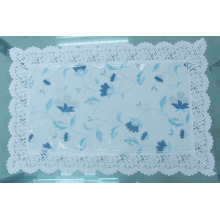 PVC Placemat with Nonwoven backing and Lace border(CD0002A)