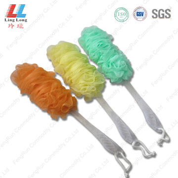 shower+puff+bath+pouf+bath+Brush+for+shower