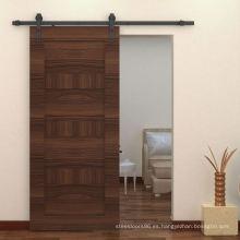 Puerta Mampara de madera corredizas, puerta corrediza al ras de Ingeniero