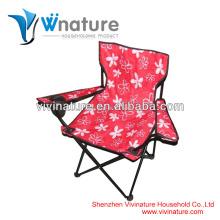 Chaise pliable facile d'enfants de transport \ Chaise extérieure de camp d'enfants \ Chaise pliante confortable d'enfants de tissu d'enfant