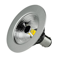 Tamaño y funcionamiento del halógeno 7W LED B15 Ar70 Lamparas (LeisoA)
