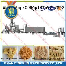 Extrusora de fabricación de soja texturizada venta caliente