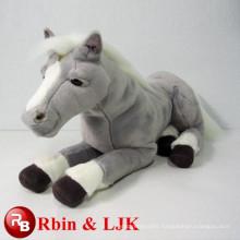 plush rocking horse plush big eyes cat toys