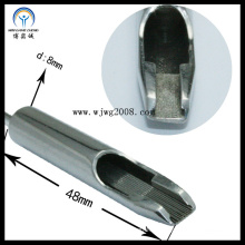 8 * 48cm, 304stainless Stahl Ta-13f-03 Tätowierung