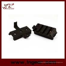 Engranaje táctico Picatinny ala-Loc adaptador para carril de casco