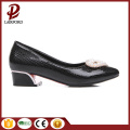 low heel flat women PU Serpentine shoes