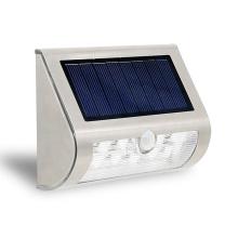 9LED Solar Lamp PIR Motion Sensor Waterproof IP44 Outdoor Lighting Wireless Stainless Steel Solar Wall Light