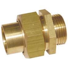 Messingverbinder Kupplungsrohrverschraubung (a. 0254)