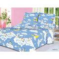 Высокое качество Мягкое Handfeeling Печатные 100% Хлопок Bed Sheet ткани