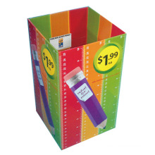 Multicoloured Corrugated Dump Bins, POS Dumpbin Display